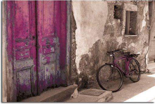 dekoracja ścienna rower