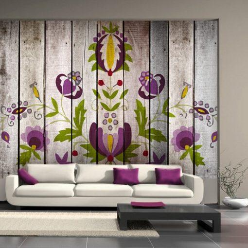 fototapeta kwiaty ozdoba do salonu