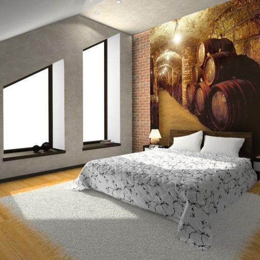 fototapety dekoracyjne sypialnia