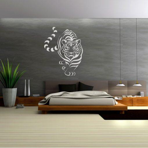 szablony ozdobne na ścianę