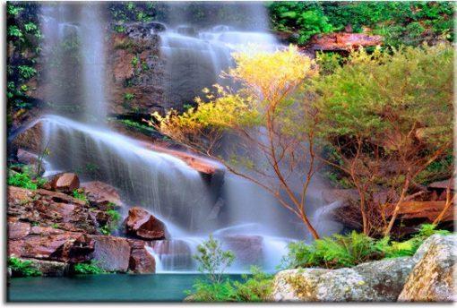fototapety wodospad inspiracje