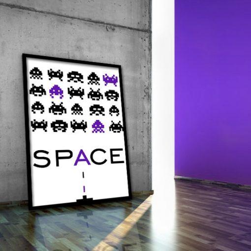 plakat na ścianę gra