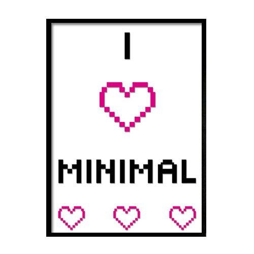 minimal plakat