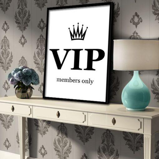plakat VIP