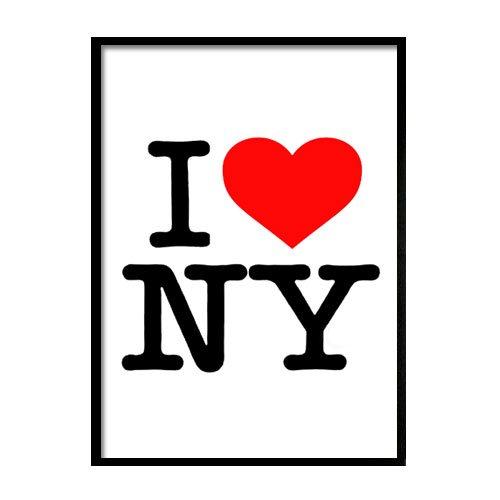 plakat I love NY