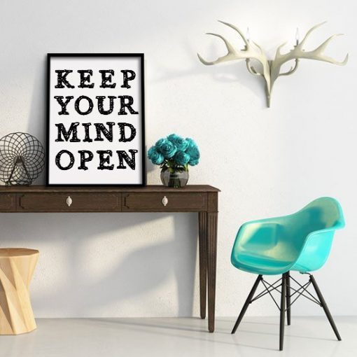 Keep Your Mind Open plakat