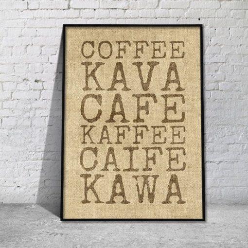 plakat kawa
