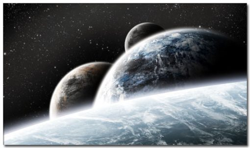 obraz planet