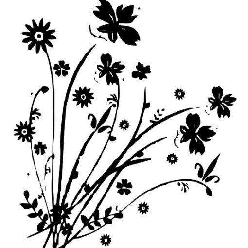 motyw kwiatów