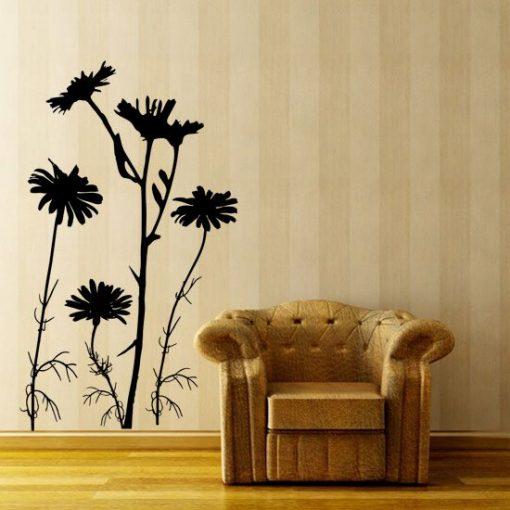 naklejka kwiaty