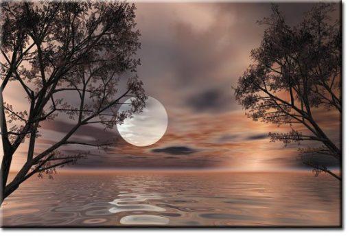 księżyc fototapeta