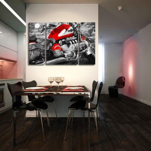 tryptyk motocykl