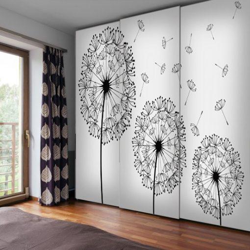dekoracje ze szkicami