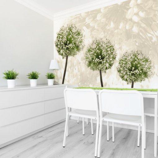rośliny na tapecie