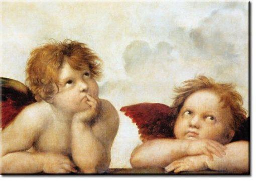 plakaty z aniołkami