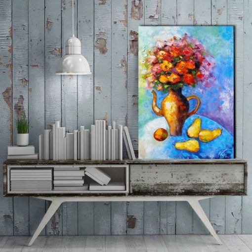 obraz martwa natura z owocami