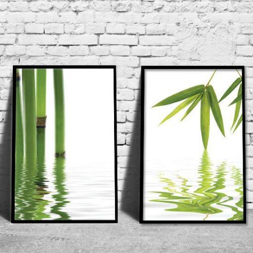 ozdoby z bambusami