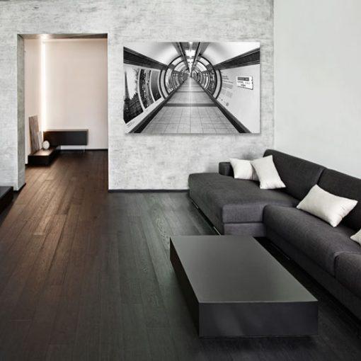 obrazy z korytarzami