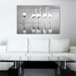 dekoracje z flamingami