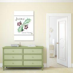 ozdoba ścian z napisem i grafiką
