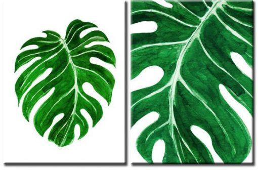 dekoracje z motywami roślinnymi