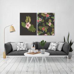 dekoracje tropikalne