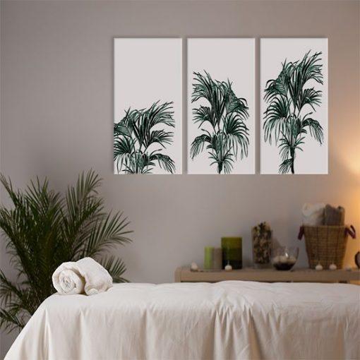 ozdoby z palmami
