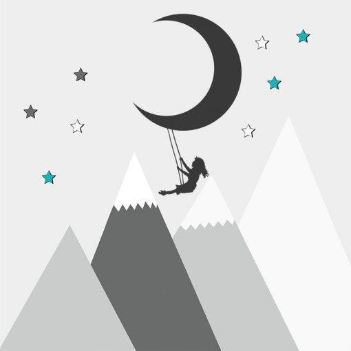 tapety z księżycem