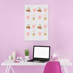 dekoracje z muffinami