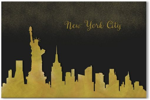 obraz z miastem