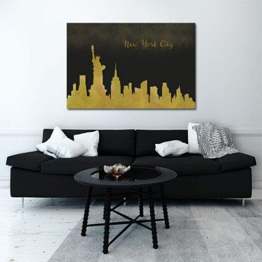 obraz z Nowym Jorkiem