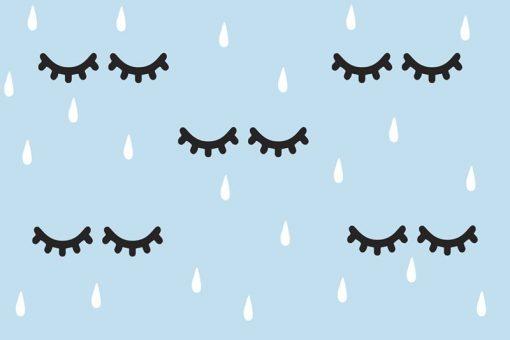 tapety z deszczem