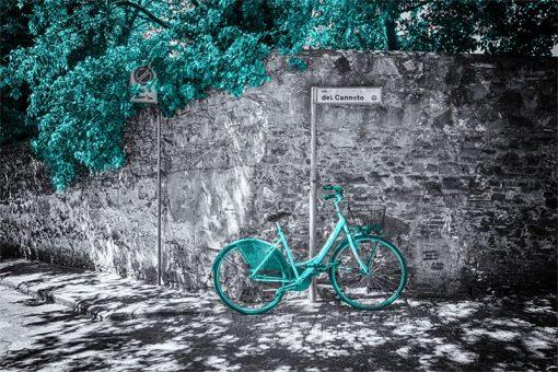 fototapety z rowerem