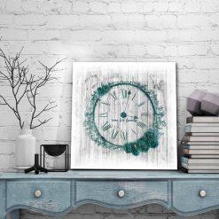 obrazy z zegarem