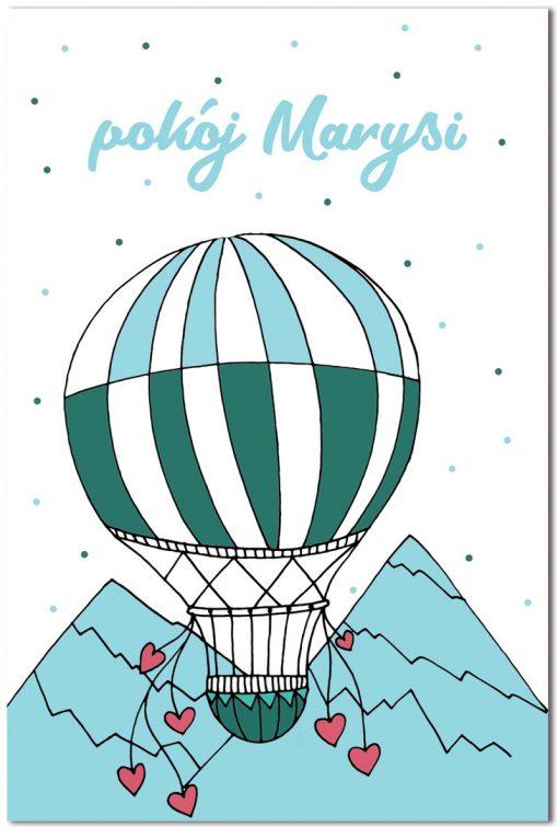 obrazy z balonami
