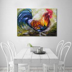 kolorowe obrazy do jadalni