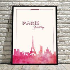 plakat w ramie - Paryż