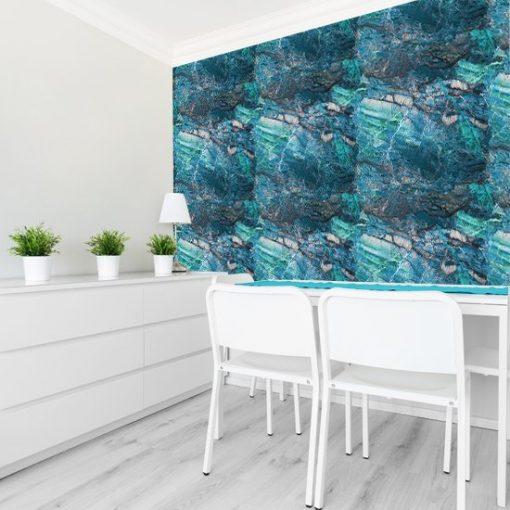 Fototapeta z wzorem na ścianę