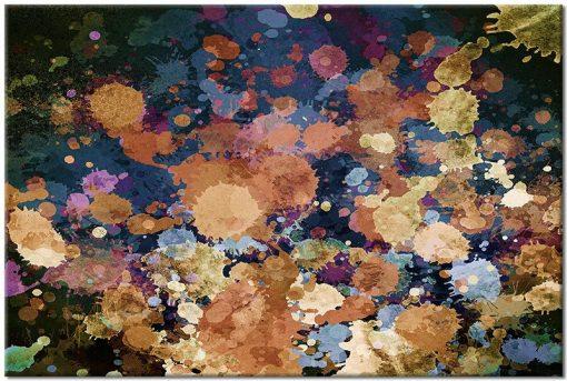 Obraz kolorowe mazaje