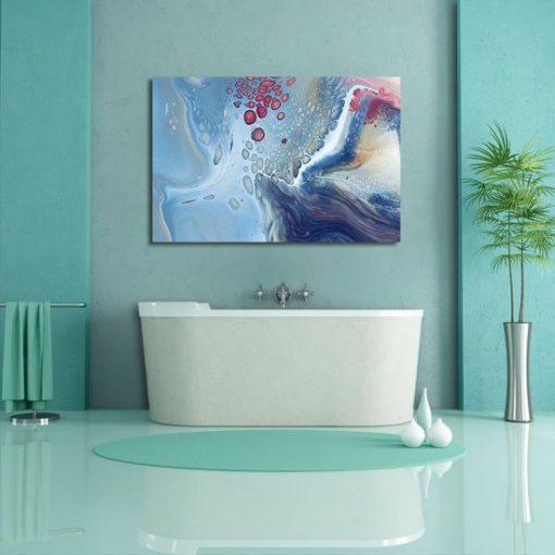 Obraz abstrakcja pod wodą