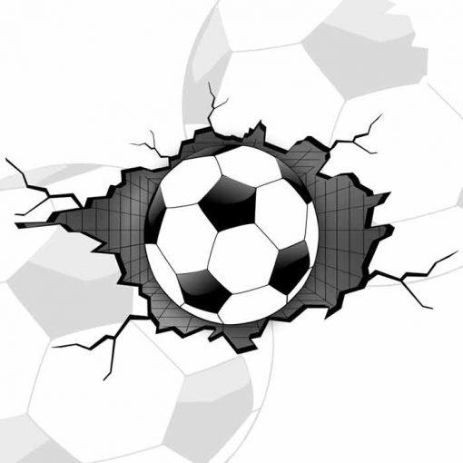 Fototapeta z piłka nożną 3d