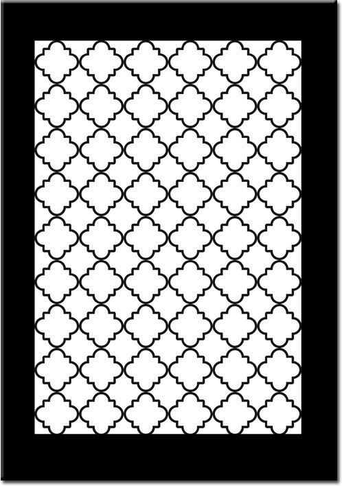 Plakat heksagony