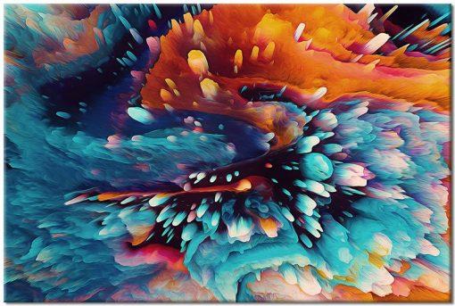 obrazy z wzorami abstrakcji