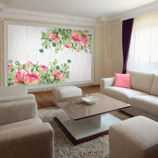 tapety w kwiaty