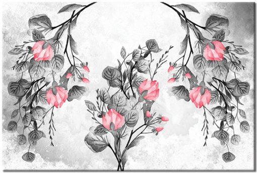 obraz z różami