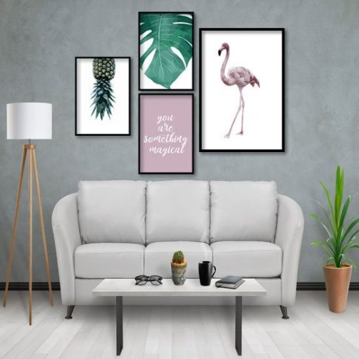plakaty z ananasem