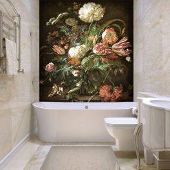 kwiatki w wazonie