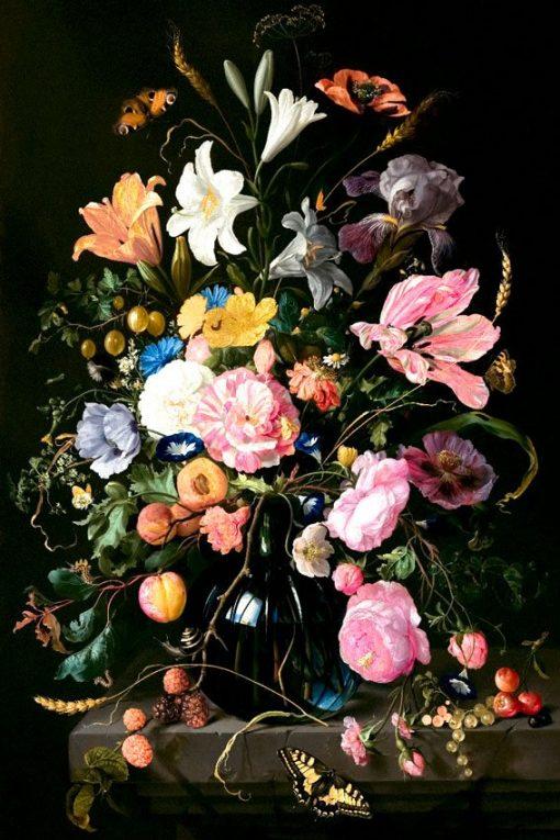 fototapeta do pokoju z kwiatami