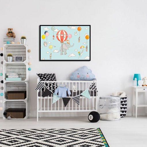 plakaty do sypialni dziecka