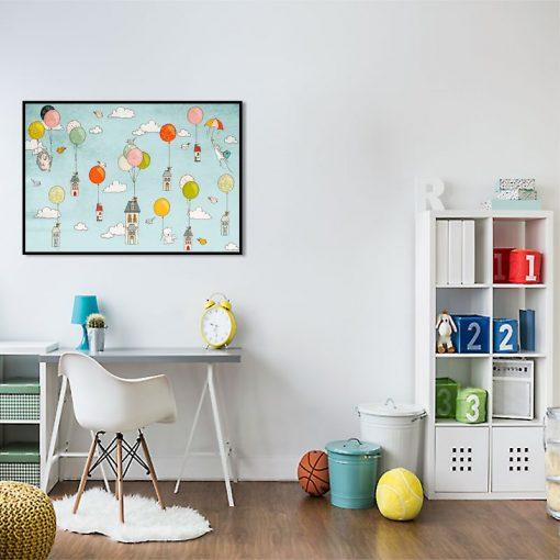 dekoracje z grafikami dla dzieci